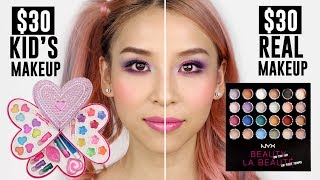 $30 Kid's makeup VS $30 Real Makeup  from Tina Yong