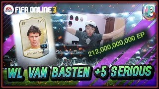 ~GOSH!!! WL Van Basten +5!!!~ Ultimate World Legend Upgrading - FIFA ONLINE 3