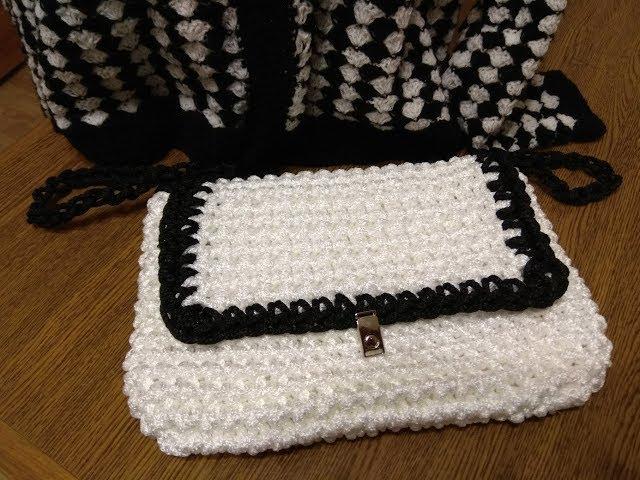 Простая  красивая сумочка за один вечер
