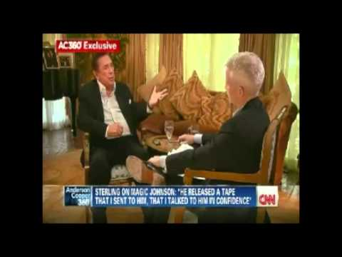 [FULL INTERVIEW] DONALD STERLING ON ANDERSON COOPER 360°
