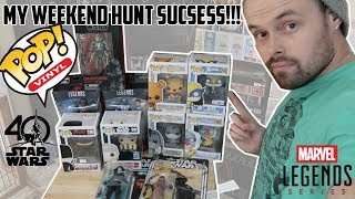 EPISODE 22 - TOY HUNTING FOR MARVEL LEGENDS AND FUNKO POPS!! MAIL CALL FROM FRIENDS AND TRU!