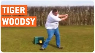 This Guy Is The Next Tiger Woods... Or Not