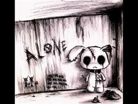 Emo Alone Drawings Emo Art Drawings Youtube