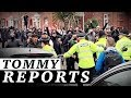 Muslim rioters ATTACK Tommy Robinson voters with bottles, bricks in Oldham | Jessica Swietoniowski thumbnail