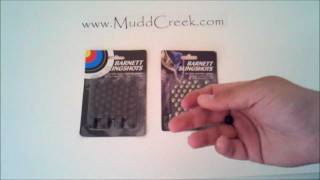 Barnett Slingshot Target & Hunting Ammo Review by MUDD CREEK