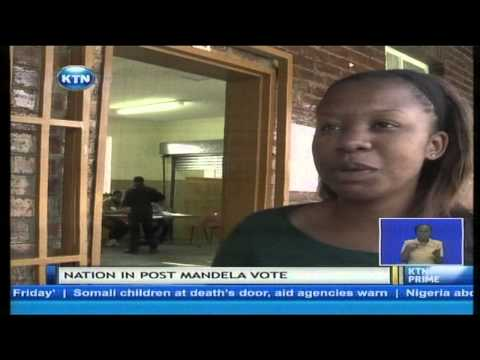 First time that the 'born-free' South African will be voting first election without Nelson Mandela