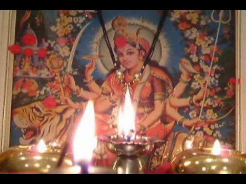 NAVRATRI AARTI Jai Adhyashakti VIRTUAL AARTI WITH REAL FLAME...