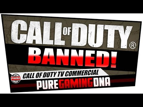 BANNED! - Call Of Duty TV Commercial | Funny Advert | COD WWII | #PS4 | #PUREGAMINGDNA