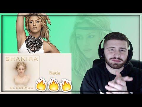 REACCION A Shakira - Nada (Audio) FIRST REACTION!!