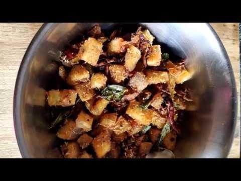 Aratikaya vepudu | Raw banana fry in Telugu