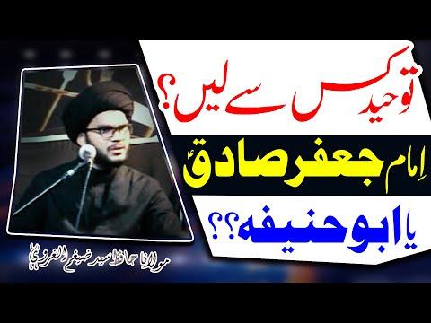 Imam Jaffar Sadiq (a.s) Ya Abu Hanifa..?? | Maulana Hafiz Syed Zaigham-Al-Gharavi | 4K