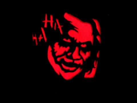 Joker Pumpkin Carvings Dark Knight Joker Pumpkin