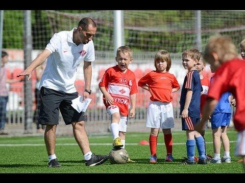 Отбор юных футболистов в Академию «Спартак»