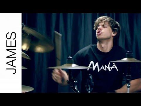 Angel de Amor - Maná (Drum Cover) by James