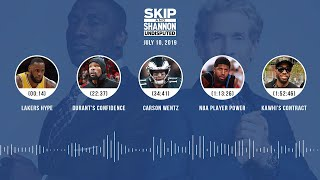 UNDISPUTED Audio Podcast (07.10.19) with Skip Bayless and Shannon Sharpe | UNDISPUTED