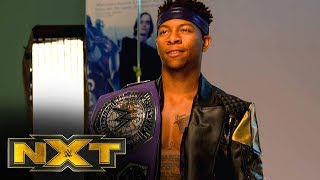 Lio Rush on what becoming NXT Cruiserweight Champion means: NXT Exclusive, Oct. 9, 2019