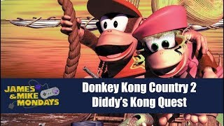 Donkey Kong Country 2 - Part 1 (SNES) James & Mike Mondays