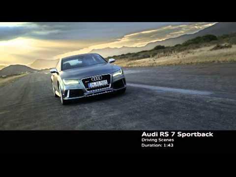 Audi RS7 Sportback - промо-видео
