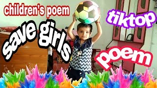Children's poem and song