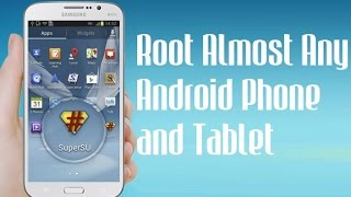 How to ROOT Any Android Device in One Click without using PC [HD]