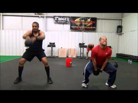 CrossFit IV: Hansen, Squat Cleans, Kettlebell Swings, Burpees & GHD Sit Ups Image 1