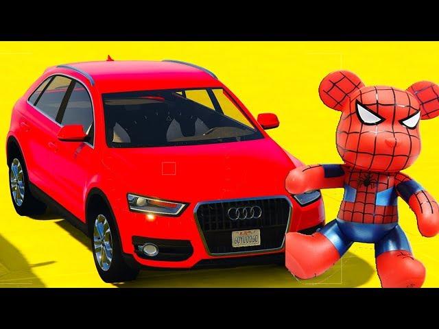 Мультик про крутые гоночные машины Человек Паук #Мультфильм про машинки для детей