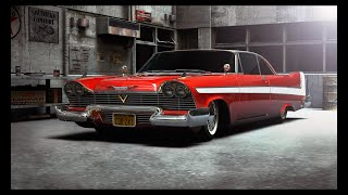 """PLYMOUTH FURY 1958 """"CHRISTINE"""" - 3D ANIMATION"""