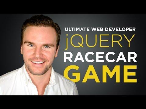 jQuery Race Car Game [#11] Ultimate Web Developer Course (Free Tutorial)