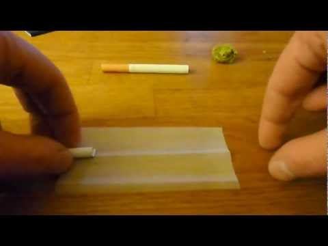 How to roll a joint inside out -The Dutch Way- THE BEST TUTORIAL