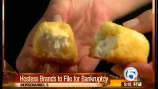 Hostess brands to file for bankruptcy
