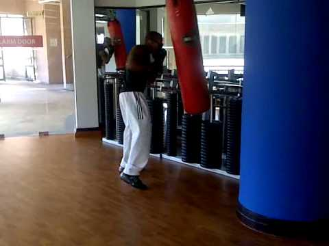 Heavy Bag Speed-Endurance Drill Image 1