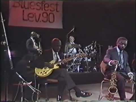 Harlem Blues&Jazz Band + Laurel Watson 1990-4 Leverkusen(G) - I Got It Bad