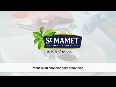 Mousse chocolat framboise