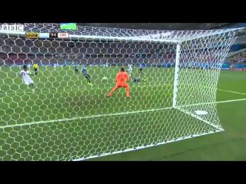 World Cup 2014 Uruguay 1-3 Costa Rica highlights