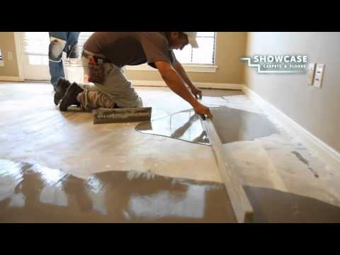 Smoothing the Subfloor