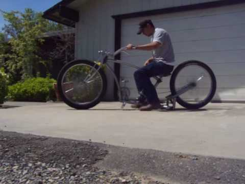 air ride bicycle rat rod bike lowrider chopper suspension custom