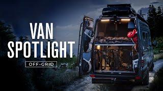 VAN SPOTLIGHT: Off-Grid | Outside Van 4x4 Sprinter 170 Van Conversion