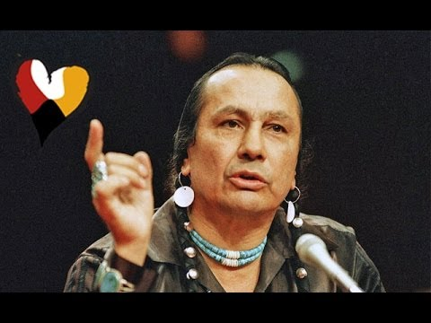 American Indian Activist Russell Means Powerful Speech, 1989 video