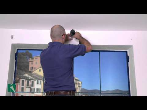 Roller blind COMFORT Resstende Installation