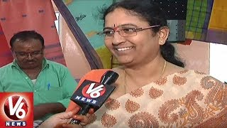 Huge Demand For Siddipet Weavers Gollabama Sarees In Hyderabad City