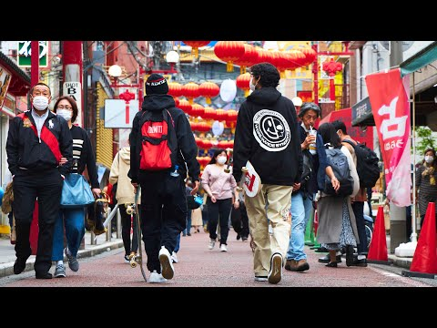 SKATERS DAY THE LIFE IN CHINA TOWN   JAPAN