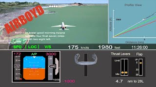Asiana Flight 214 Crash - NTSB Animation