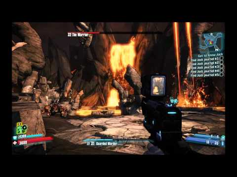 Borderlands 2 - The Warrior speed kill / Awesome Eridium. Rares and cash farming