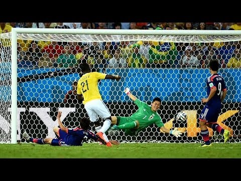 Colombia vs Japan 2014 FIFA World Cup Results