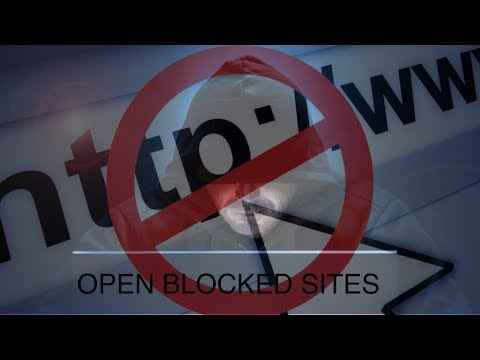 How to open blocked sites [STEP by STEP] trick 2017-18 thumbnail