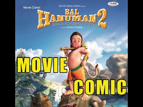 Bal Hanuman 2 Movie COMIC With Voiceover/ Comic Book/ Comic Video