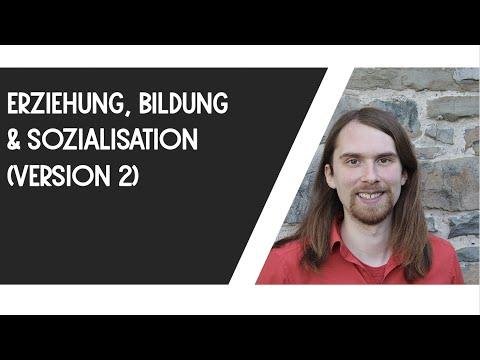 Erziehung, Bildung, Sozialisation (Version 2)