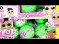 LOL SURPRISE Series 3 Куклы Пупсики Меняют Цвет LIL Sisters Видео для Детей #Игрушки #Сюрпризы