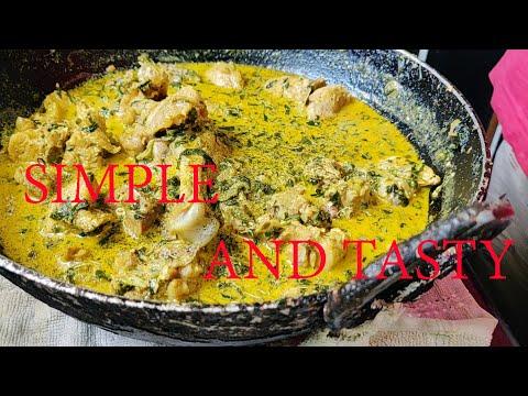 मलाई मेथि चिकन | MALAI METHI CHICKEN