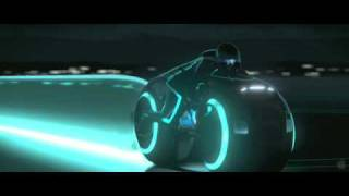 Disney: Tron Legacy (2010 movie) - VFX concept test/teaser trailer (HD)
